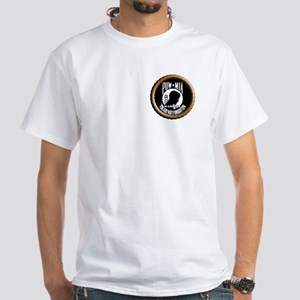 POW/MIA Warriors White T-Shirt